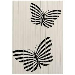 Cortina Mariposas