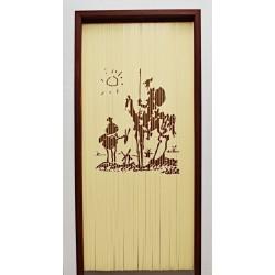 Cortina para puerta Quijote...