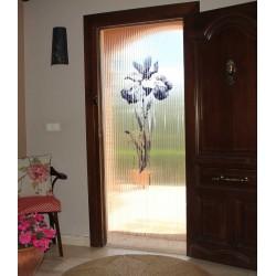 Cortina para puerta Flor de...